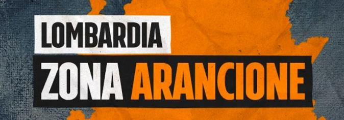 Lombardia Zona Arancione